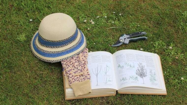 good gardening hat